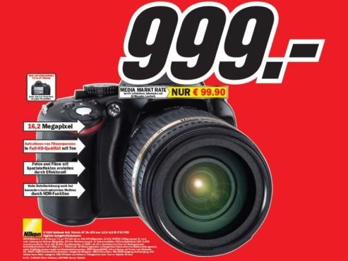 Nikon D 5100 ©COMPUTER BILD