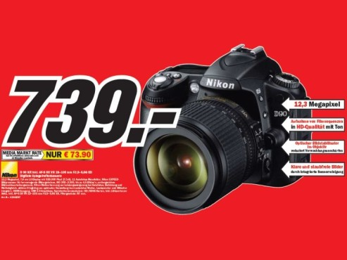 Nikon D 90 Kit ©COMPUTER BILD