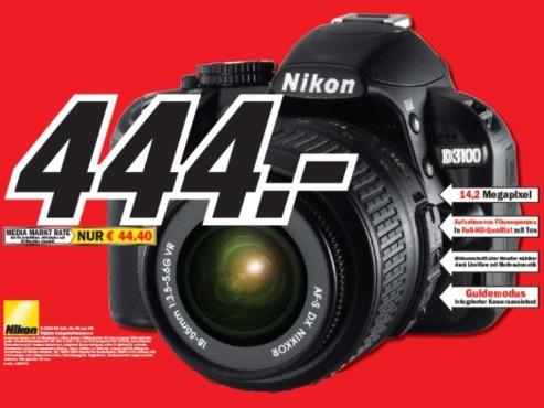 Nikon D3100 Kit ©COMPUTER BILD