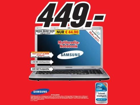Samsung NP-R730-JB09DE ©COMPUTER BILD