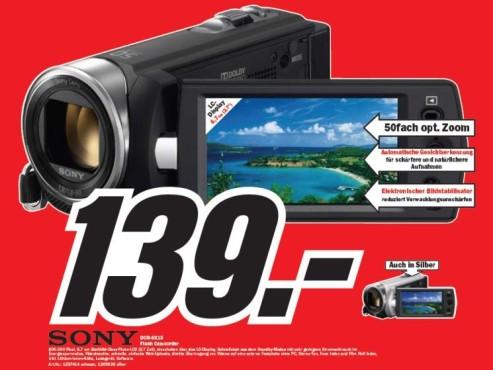 Sony DCR-SX15 ©COMPUTER BILD