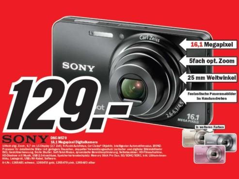 Sony DSC-W570 ©COMPUTER BILD