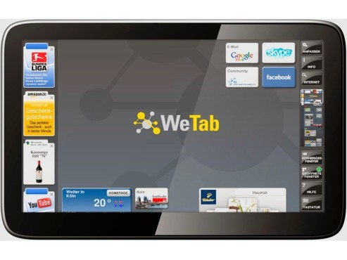 Tablet-PC WeTab © Neofonie