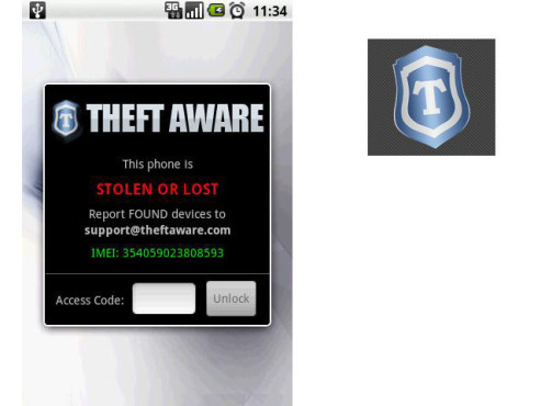 Theft Aware © ITAgents Interactive Software Solutions