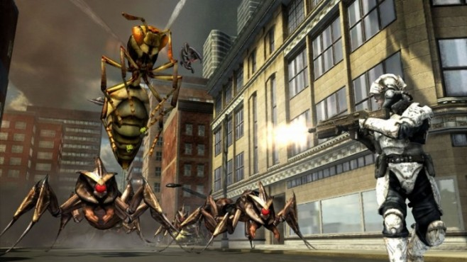 Actionspiel Earth Defense Force – Insect Armageddon: Insekten © Namco Bandai