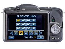 Panasonic Lumix DMC-GF3: Touchscreen © Panasonic