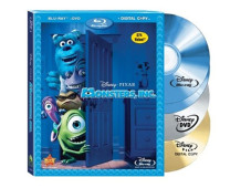 Blu-ray-Hülle Monsters Inc. mit Digital Copy © Walt Disney