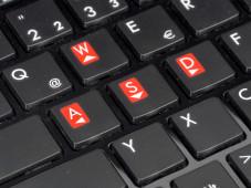 Medion Erazer X6813 (MD97762) Tastatur ©COMPUTER BILD