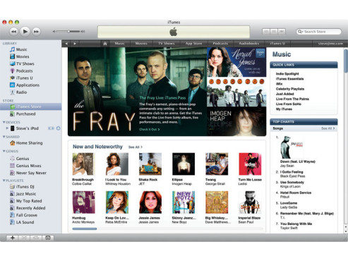 Screenshot iTunes © COMPUTER BILD