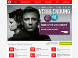 Screenshot Homepage Vodafone © Vodafone
