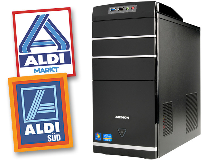 test aldi pc medion akoya e2305d md8360   computer bild