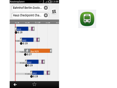 Nokia Bus & Bahn ©Nokia