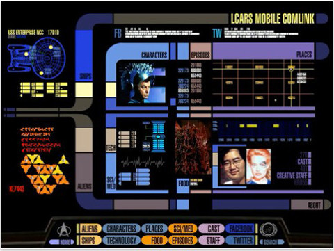 Star Trek Padd © CBS Interactive