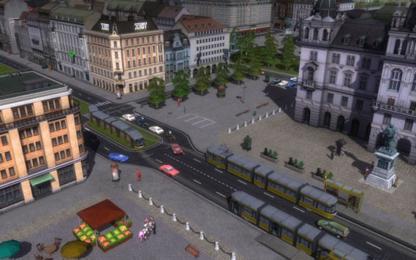 Simulation Cities in Motion: Stadt © Koch Media