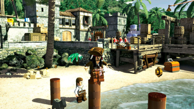 Actionspiel Lego Pirates of the Caribbean: Jack © Disney Interactive