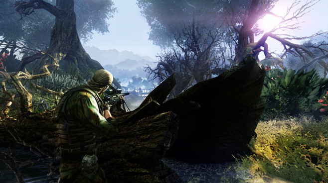 Actionspiel Sniper – Ghost Warrior 2: Boot © City Interactive