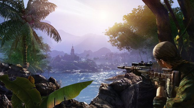 Actionspiel Sniper – Ghost Warrior 2: Wasser © City Interactive