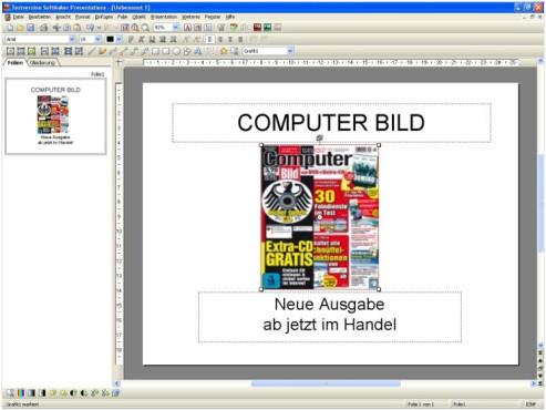 Ashampoo Office 2008 – Kostenlose Vollversion ©COMPUTER BILD