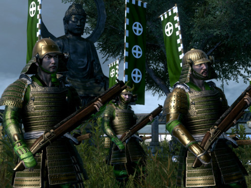 Strategiespiel Shogun 2 – Total War: Kanoniere © Sega
