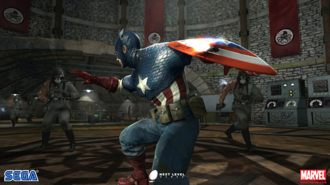 Captain America – Super Soldier © Sega