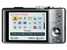 Kontrollmonitor Panasonic Lumix DMC-TZ22&nbsp;&copy;&nbsp;COMPUTER BILD