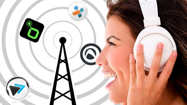 Radio-Apps ©Anthonycz - Fotolia.com Andres Rodriguez - Fotolia.com audials, radio.de, tunein, xiia