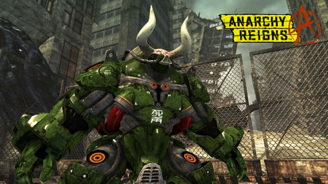 Prügelspiel Anarchy Reigns: Big Bull © Sega
