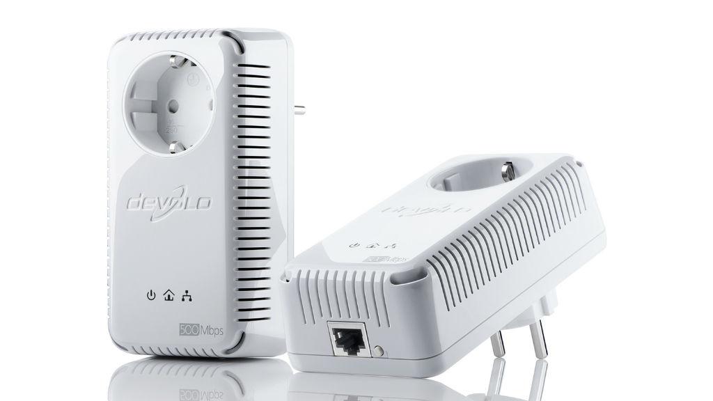 Devolo dLAN 500 AVplus Starter Kit Die einfache Handhabung und das relativ hohe Tempo sind klare Pluspunkte für das Gerät. ©Devolo