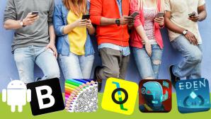 Android-Apps ©DisobeyArt-Fotolia.com, Android, Blockfolio, Krautonauts, Fun Games For Free, The Last Kind, Eldritch