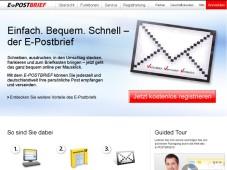 E-Postbrief Webseite ©COMPUTER BILD