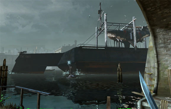 Actionspiel Dishonored: Hafen © Bethesda