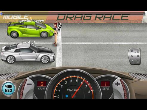 Drag Racing ©Creative Mobile