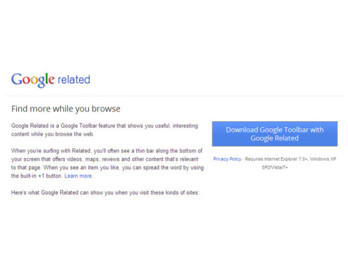 Google Related © Google