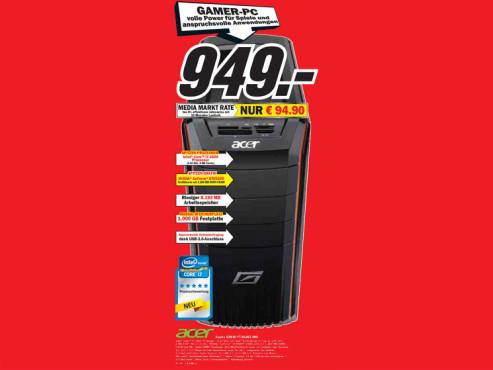 Acer Aspire G3610 PT.SG6E2.060 ©Media Markt