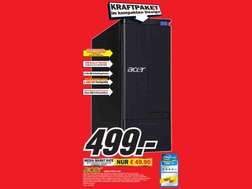 Acer X3960 PT.SFFE 2.209 ©Media Markt