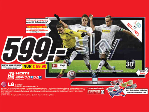 LG 42 LW 4500 ©Media Markt