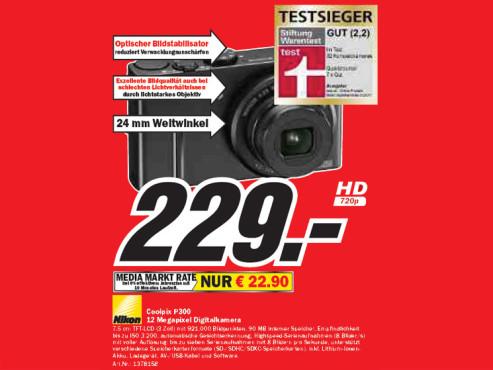 Nikon Coolpix P300 ©Media Markt