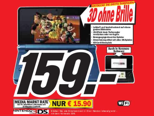 Nintendo 3DS ©Media Markt