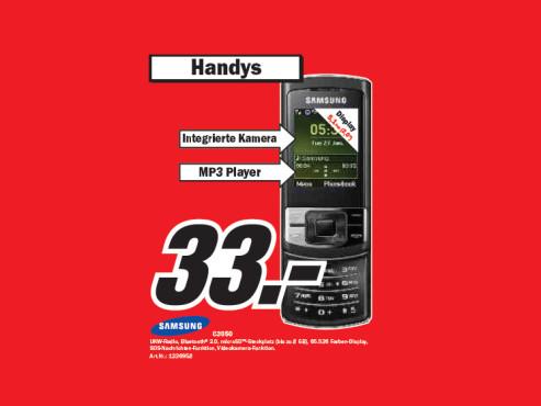 Samsung C3050 ©Media Markt