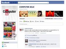 COMPUTER BILD-Fanpage bei Facbeook ©COMPUTER BILD