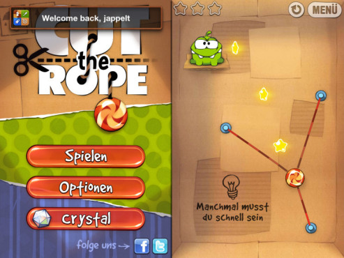 Cut the Rope © COMPUTER BILD