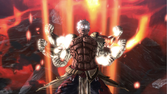 Actionspiel Asura's Wrath: Arme © Capcom