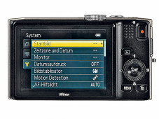 Kontrollmonitor Nikon Coolpix S8200 ©COMPUTER BILD