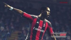 Fu�ballspiel Pro Evolution Soccer 2012: AC Milan ©Konami