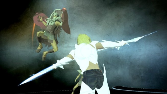 Actionspiel El Shaddai – Ascension of the Metatron: Kampf © Konami