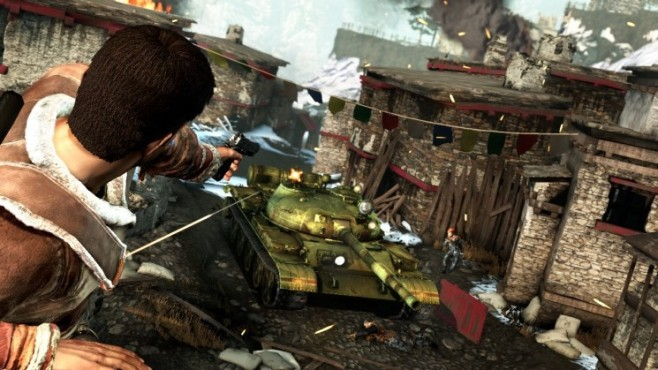 Actionspiel Uncharted 2 – Among Thieves: Panzer © Sony