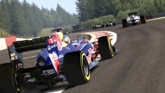 Rennspiel F1 2011: Red Bull © Codemasters
