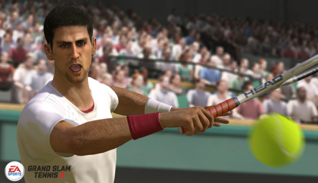 Sportspiel Grand Slam Tennis 2: Djokovic 1 © Electronic Arts