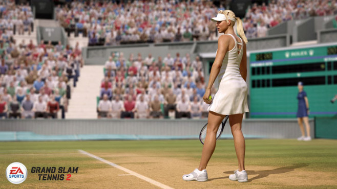 Sportspiel Grand Slam Tennis 2: Grundlinie © Electronic Arts