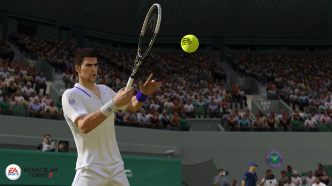 Sportspiel Grand Slam Tennis 2: Head © Electronic Arts